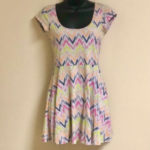 American Eagle Outfitters Aztec Mini Dress